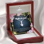 Mother In Law Gift For Mother Thank You Alluring Beauty Necklace