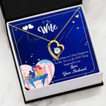 You Are The Best Thing Gift For Wife 18K Gold   Forever Love Necklace