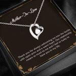 To My Mother In Law I Feel So Lucky Forever Love Necklace