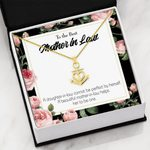 To The Best Mother In Law Helps Her To Be One Anchor Necklace