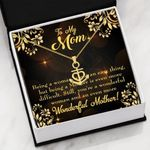You Are A Wonderful Woman And An Even More Wonderful Mother Gift For Mom Anchor Necklace