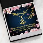 Mother In Law Life Has Given Me Plenty Of Reasons Anchor Necklace