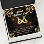 Today Is A Good Time Infinity Heart Necklace Gift For Mother In Law