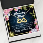 Today Is A Special Day Infinity Heart Necklace Gift For Mom