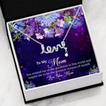 You Inspire Me To Be The Greatest Gift For Mom Scripted Love Necklace