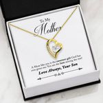 You Are The Best Among The Rest Gift For Mom Forever Love Necklace