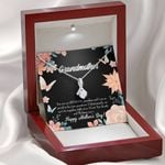 To Grandmother Gift For Mother's Day Alluring Beauty Necklace
