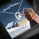 Merry Christmas Magic Of The Season Forever Love Necklace