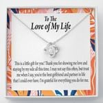 Love Knot Gift For Lovers  This Is A Little Gift For You