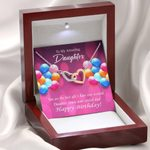 You Are The Best Gift Birthday Gift For Daughter Interlocking Hearts Necklace