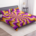 illusional bedsheet