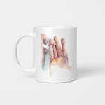 Newborn Baby - Oil Painting Style Mug