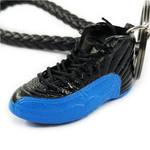 "Air Jordan 12 Retro ""GammaBlue"" Mini Sneaker(Tiny Sneaker) Keychain"