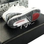 "Air Jordan 3 Retro ""White Cement""Mini Sneaker(Tiny Sneaker) Keychain"