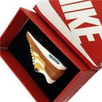 Air Max 90 Wheat Yellow Swoosh Mini Sneaker(Tiny Sneaker) Keychain
