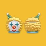 Amusement Park Clown Airpods Case