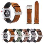 Big Eye Leather Strap For Apple Watch Series 1,2,3,4
