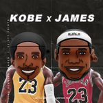 Big Head Kobe & James Airpods Case