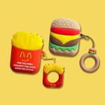 Burger&Fries Airpods TPU Case