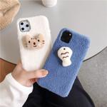 Cat & Fish Plush iPhone Case