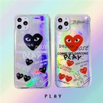 CDG PLAY Laser iPhone Case