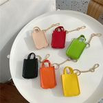 Colorful Leather Bags Airpods Case