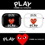 Comme des Garcons Play Airpods Case