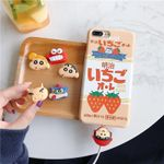 Crayon Shinchan Apple Charging Line Protection Case