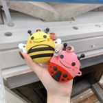 Cute Bee & ladybug Airpods Case
