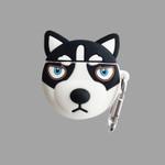 Cute Husky Head Airpods Case