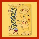 Cute Pikachu iPad Case