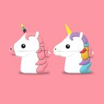 Cute Unicorn Airpods Case