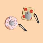 Donut & Toast With Cat Airpods Case