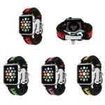 Double Colors Outdoor Nylon Strap For Apple Watch Series 1,2,3,4