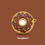 Doughnuts Shaped  Airpods Case