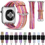 Fashion Painted 11 Colors Strap For Apple Watch Series 1,2,3,4