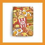 Graffiti Food iPad Case