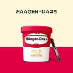 Haagen-Dazs Ice Cream Shaped Airpods Case