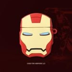 Iron Man Head Shaped AirPods Case