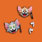 Laughing Tom and Jerry Airpods Pro Case