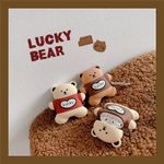Lucky Bear Biscuit Airpods Case
