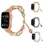 Metal Luminous Beads Strap For Apple Watch Series 4