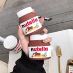 Nutella Chocolate Hazelnut Spread Airpods Case