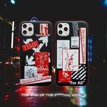Off White X FR2 iPhone Case