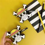 One Piece Ship Flag Mask Airpods Case