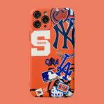 Orange MLB iPhone Case