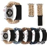 Outdoor Camouflage Velcro Strap For Apple Watch Series 1,2,3,4