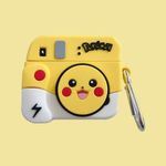 Pikachu Polaroid Camera Airpods Pro Case
