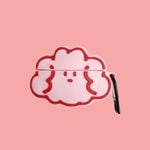 Pink Cloud Airpods Case