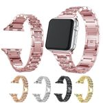 Rhinestone Stainless Steel Strap For Apple Watch Series 1,2,3,4